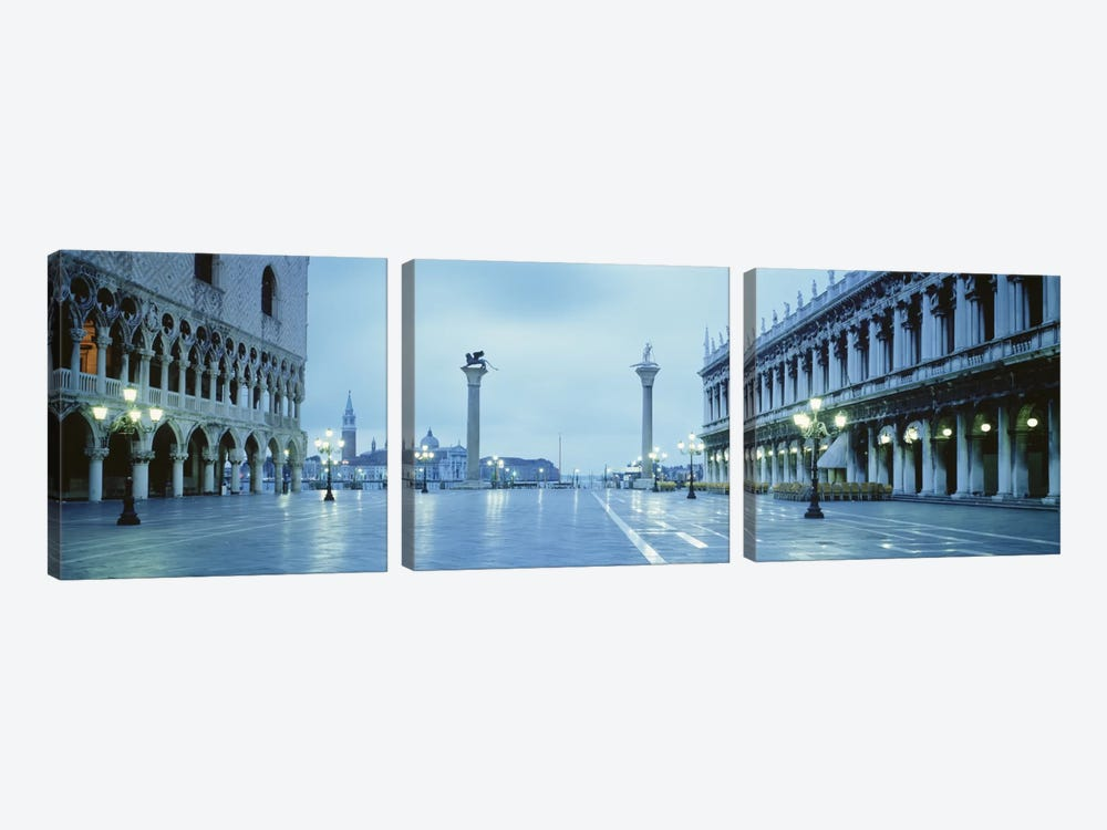 San Marco Square Veneto Venice Italy by Panoramic Images 3-piece Canvas Art