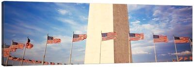 Washington Monument Washington DC USA Canvas Print #PIM849