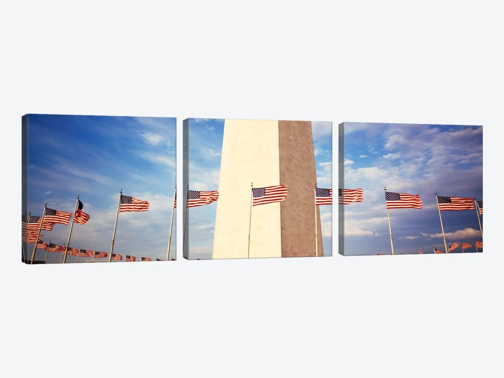 Washington Monument Washington DC USA by Panoramic Images 3-piece Canvas Art