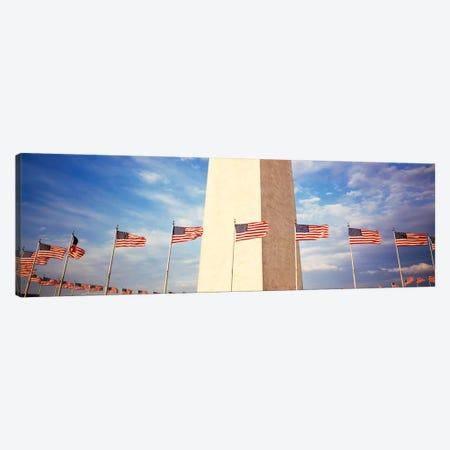 Washington Monument Washington DC USA Canvas Print #PIM849} by Panoramic Images Canvas Art