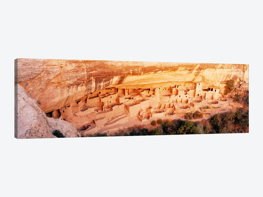 Cliff Palace, Mesa Verde National Park, Montezuma County, Colorado, USA by Panoramic Images 1-piece Canvas Art