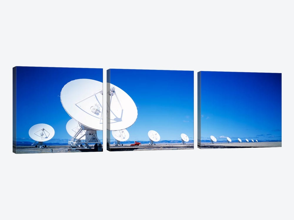 Antenna configuration NM USA by Panoramic Images 3-piece Canvas Art