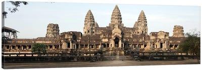 Facade of a temple, Angkor Wat, Angkor, Siem Reap, Cambodia Canvas Print #PIM8515
