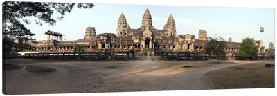 Facade of a temple, Angkor Wat, Angkor, Cambodia Canvas Print #PIM8520