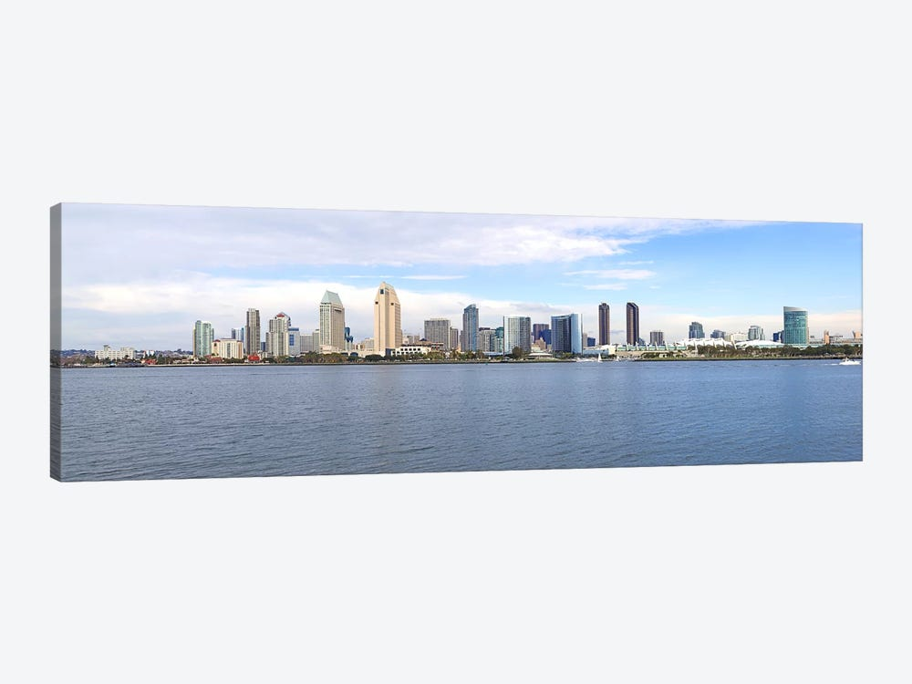 Buildings at the waterfront, San Diego, San Diego County, California, USA by Panoramic Images 1-piece Canvas Print
