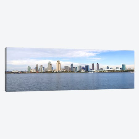 Buildings at the waterfront, San Diego, San Diego County, California, USA Canvas Print #PIM8522} by Panoramic Images Canvas Artwork