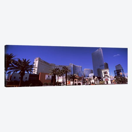 Low angle view of skyscrapers in a city, Citycenter, The Strip, Las Vegas, Nevada, USA Canvas Print #PIM8537} by Panoramic Images Canvas Art