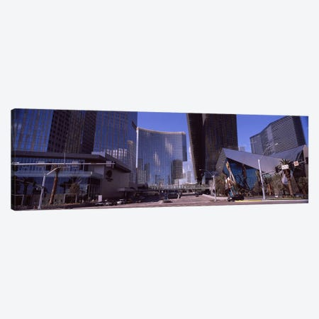 Skyscrapers in a city, Citycenter, The Strip, Las Vegas, Nevada, USA 2010 Canvas Print #PIM8539} by Panoramic Images Art Print