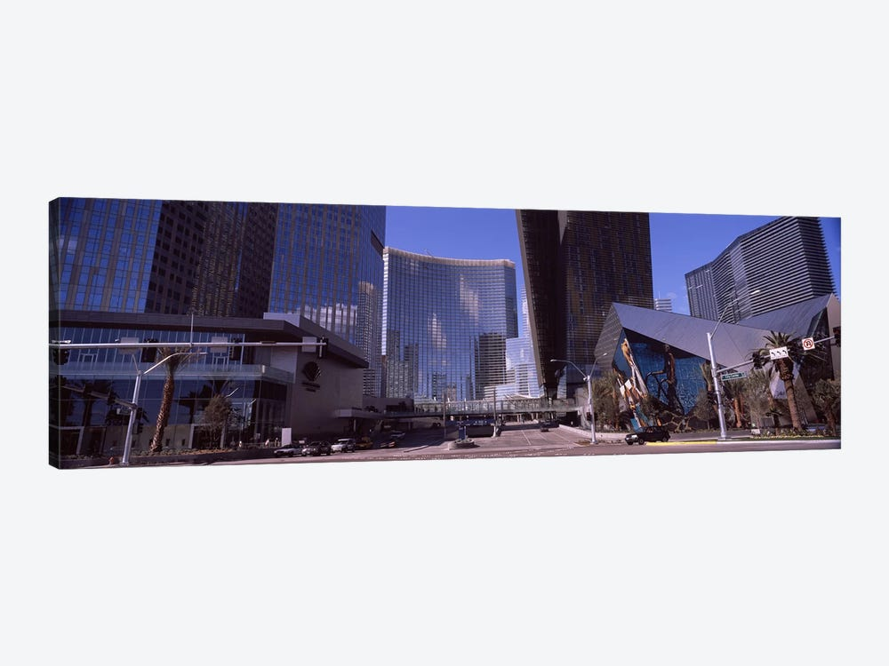 Skyscrapers in a city, Citycenter, The Strip, Las Vegas, Nevada, USA 2010 by Panoramic Images 1-piece Art Print