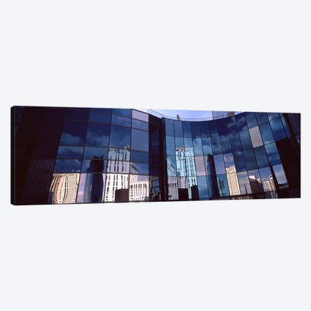 Reflection of skyscrapers in the glasses of a building, Citycenter, The Strip, Las Vegas, Nevada, USA Canvas Print #PIM8542} by Panoramic Images Canvas Wall Art