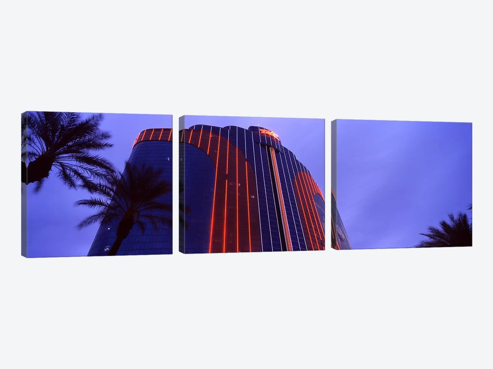 Low angle view of a hotel, Rio All Suite Hotel And Casino, The Strip, Las Vegas, Nevada, USA by Panoramic Images 3-piece Canvas Art
