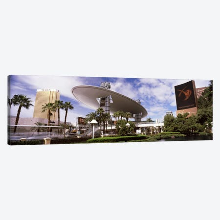 Hotels in a city, Trump Hotel Las Vegas, Wynn Las Vegas, The Strip, Las Vegas, Nevada, USA Canvas Print #PIM8558} by Panoramic Images Canvas Art Print