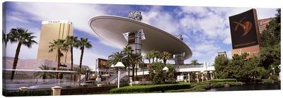 Hotels in a city, Trump Hotel Las Vegas, Wynn Las Vegas, The Strip, Las Vegas, Nevada, USA Canvas Print #PIM8558
