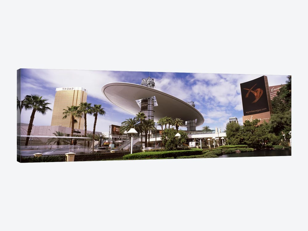 Hotels in a city, Trump Hotel Las Vegas, Wynn Las Vegas, The Strip, Las Vegas, Nevada, USA by Panoramic Images 1-piece Canvas Art