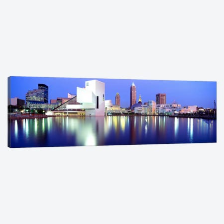 MuseumRock And Roll Hall of Fame, Cleveland, USA Canvas Print #PIM855} by Panoramic Images Canvas Wall Art