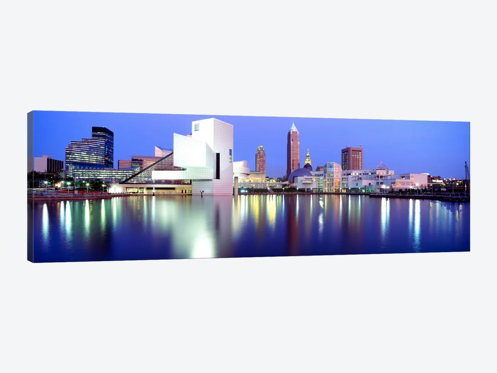 MuseumRock And Roll Hall of Fame, Cleveland, USA by Panoramic Images 1-piece Canvas Print