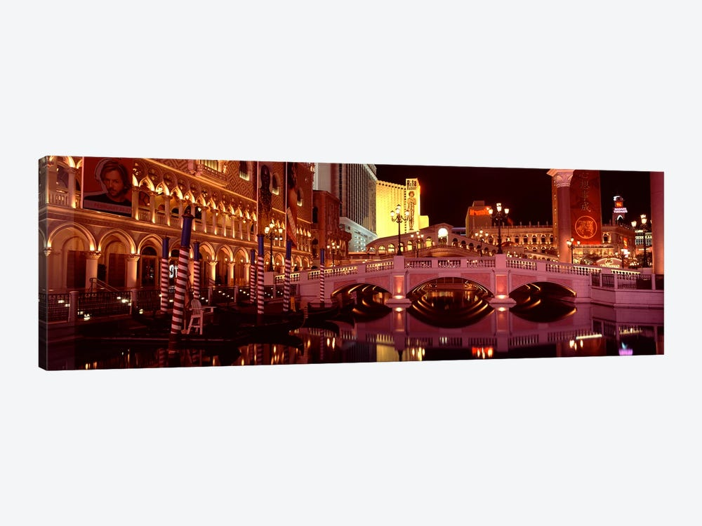 Arch bridge across a lake, Las Vegas, Nevada, USA by Panoramic Images 1-piece Canvas Wall Art