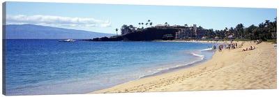 Coastal Landscape, Black Rock Beach, Maui, Hawai'i, USA Canvas Print #PIM8575