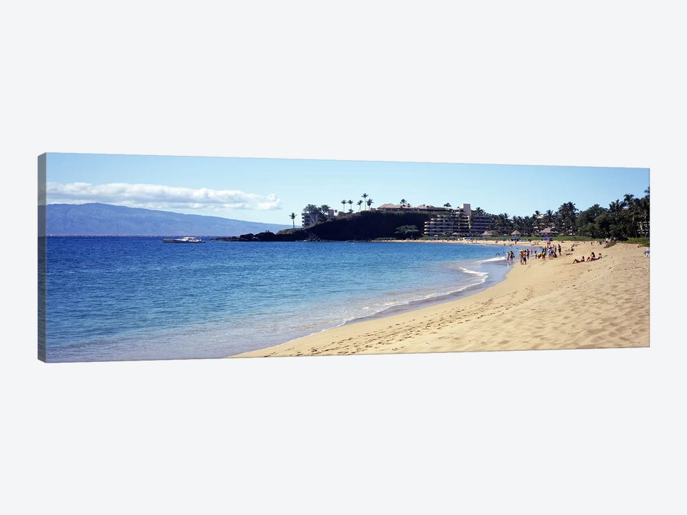 Coastal Landscape, Black Rock Beach, Maui, Hawai'i, USA by Panoramic Images 1-piece Art Print