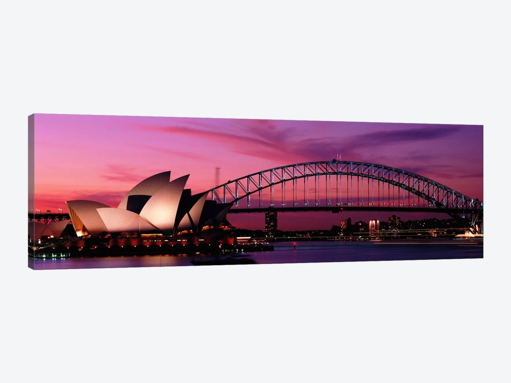 Australia, Sydney, sunset by Panoramic Images 1-piece Canvas Art