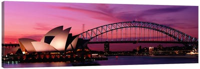 Australia, Sydney, sunset Canvas Art Print