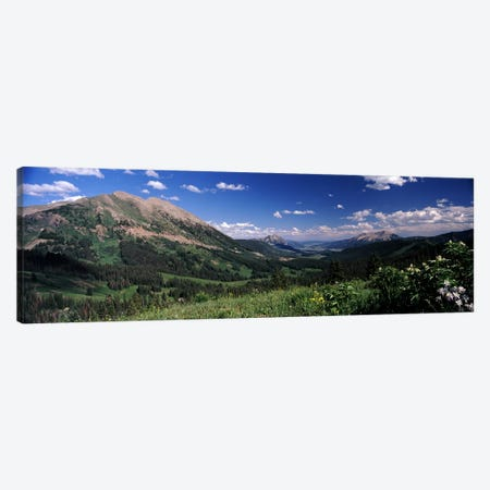 Kebler Pass, Crested Butte, Gunnison County, Colorado, USA Canvas Print #PIM8598} by Panoramic Images Canvas Art Print