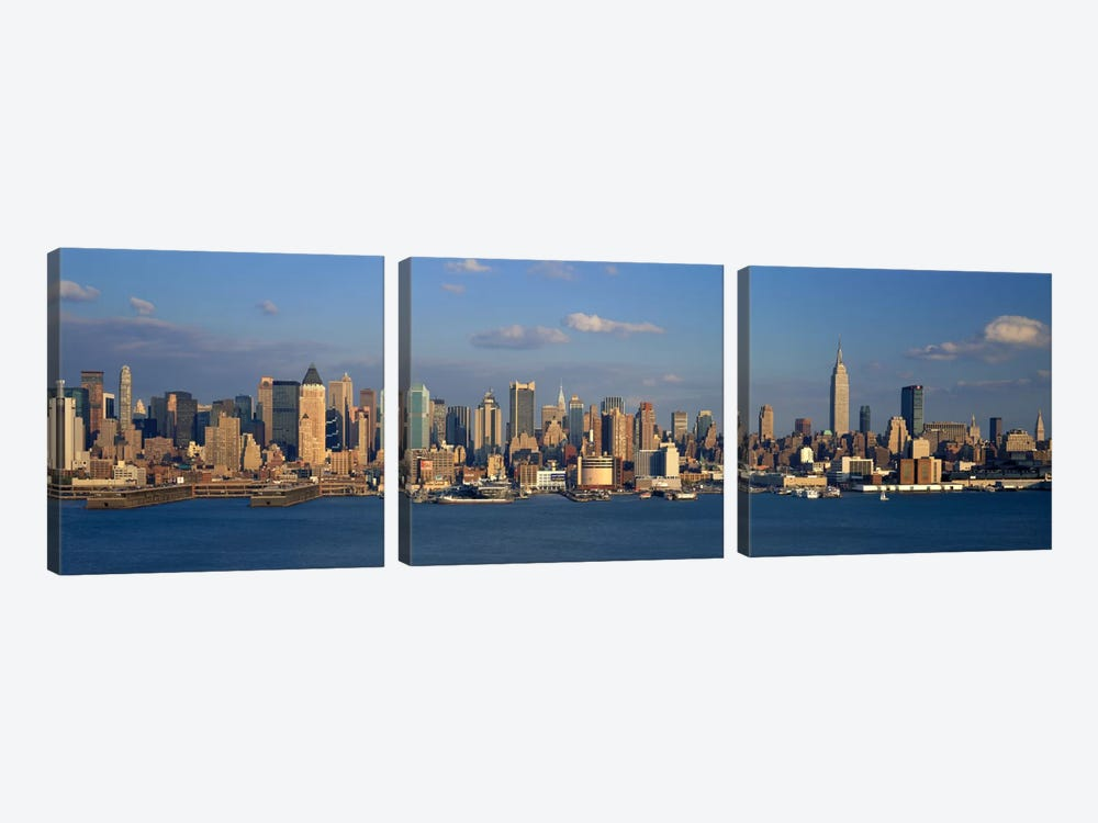 New York City NY by Panoramic Images 3-piece Canvas Art Print