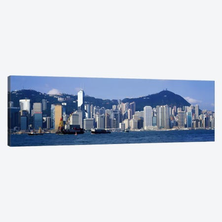 Hong Kong China Canvas Print #PIM861} by Panoramic Images Canvas Artwork