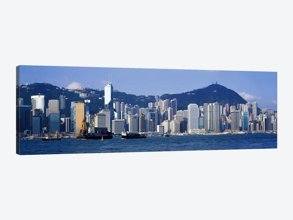 Hong Kong China by Panoramic Images 1-piece Canvas Wall Art