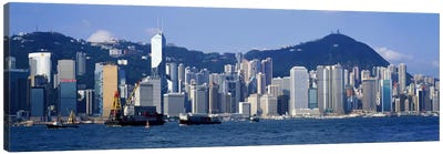 Hong Kong China Canvas Art Print