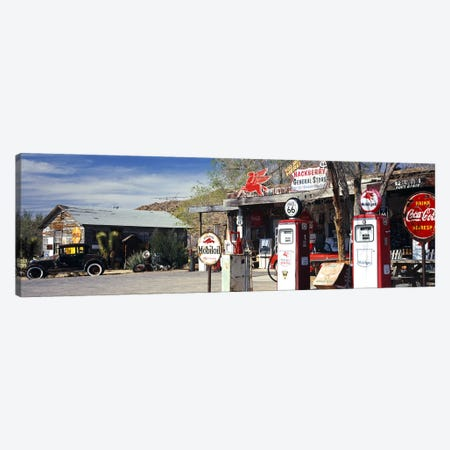 General Store Along U.S. Route 66, Hackberry, Mohave County, Arizona, USA Canvas Print #PIM8624} by Panoramic Images Canvas Wall Art