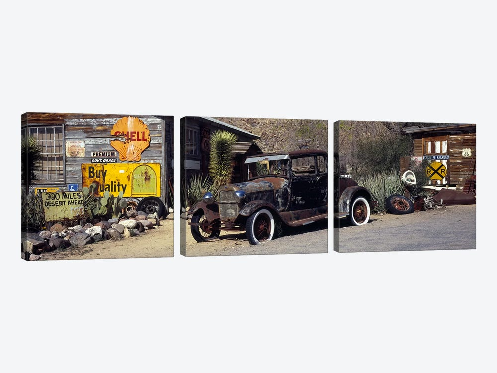 Vintage USA by Panoramic Images 3-piece Canvas Wall Art