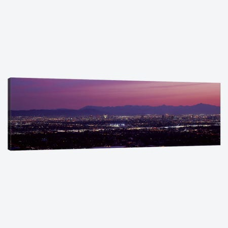 Fuchsia Sunset, Phoenix, Maricopa County, Arizona, USA Canvas Print #PIM8628} by Panoramic Images Canvas Art Print