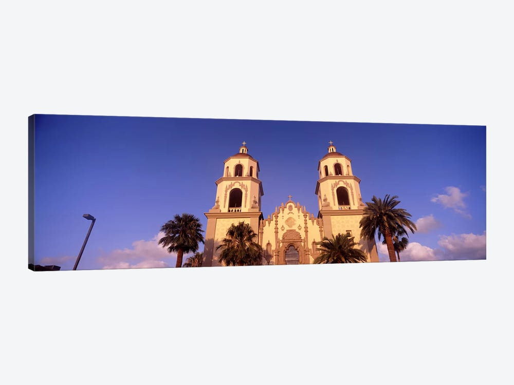 Low angle view of a cathedral, St. Augustine Cathedral, Tucson, Arizona, USA by Panoramic Images 1-piece Canvas Wall Art