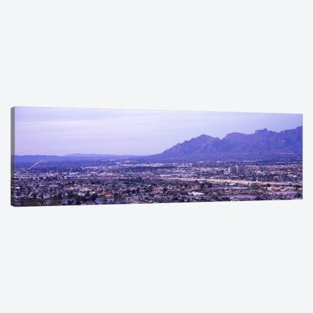Aerial view of a city, Tucson, Pima County, Arizona, USA Canvas Print #PIM8641} by Panoramic Images Art Print
