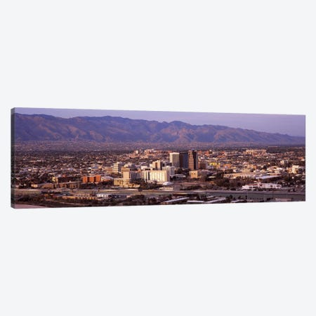 Aerial view of a cityTucson, Pima County, Arizona, USA Canvas Print #PIM8642} by Panoramic Images Canvas Art Print