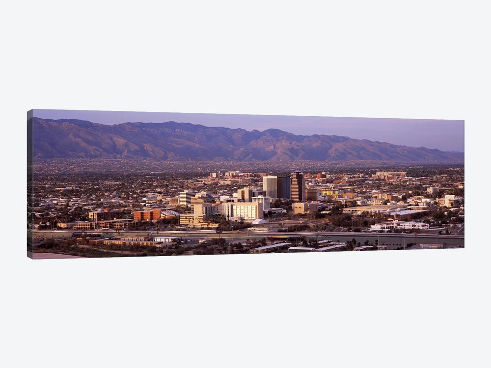 Aerial view of a cityTucson, Pima County, Arizona, USA 1-piece Art Print