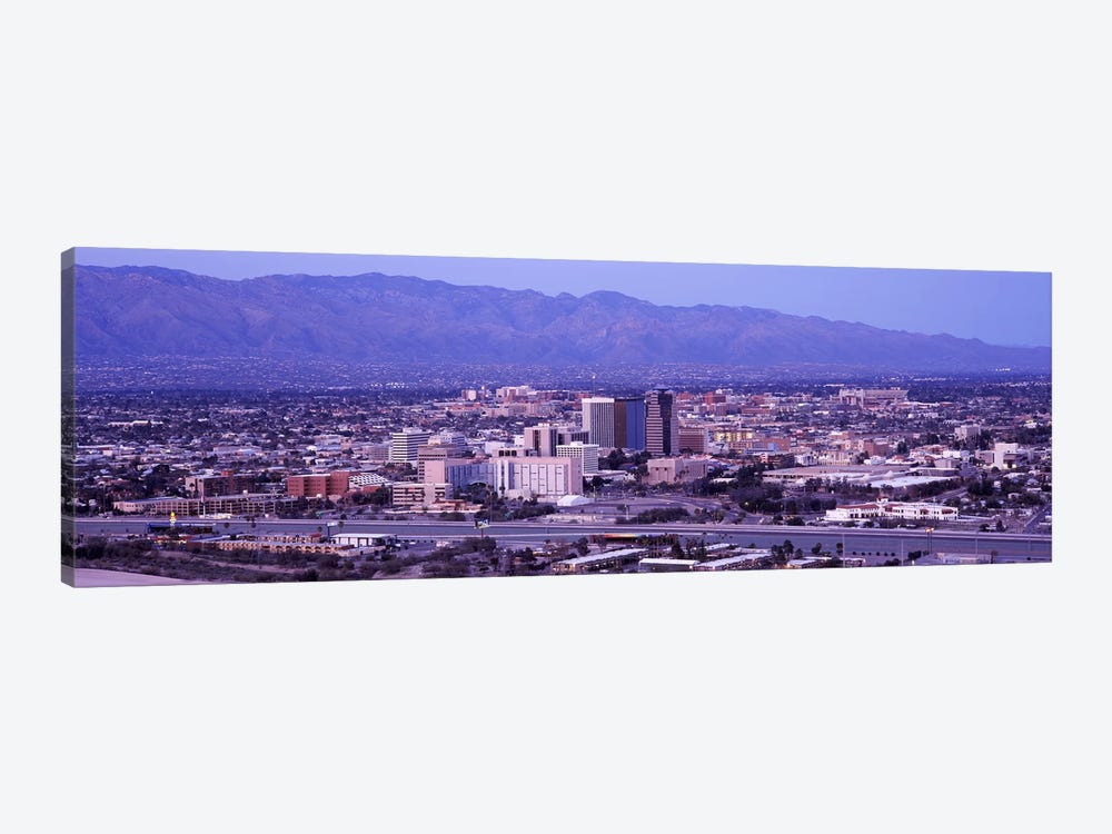 Aerial view of a cityTucson, Pima County, Arizona, USA by Panoramic Images 1-piece Canvas Artwork