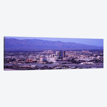 Aerial view of a cityTucson, Pima County, Arizona, USA Canvas Print #PIM8643} by Panoramic Images Canvas Art Print