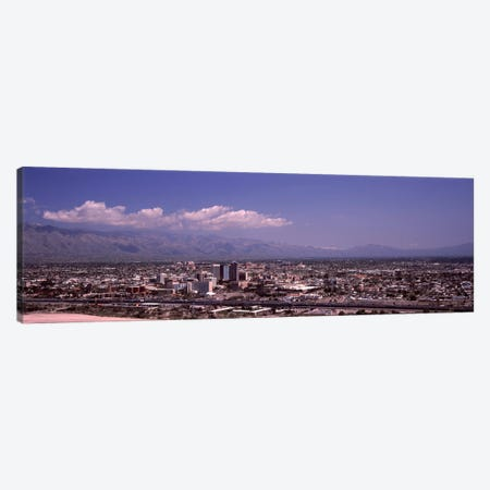 Aerial view of a cityTucson, Pima County, Arizona, USA Canvas Print #PIM8644} by Panoramic Images Canvas Wall Art