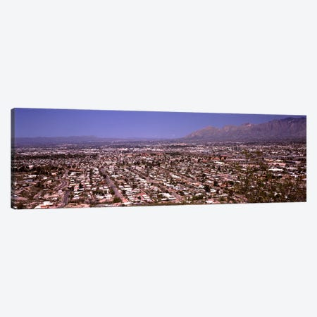 Aerial view of a cityTucson, Pima County, Arizona, USA Canvas Print #PIM8645} by Panoramic Images Canvas Art