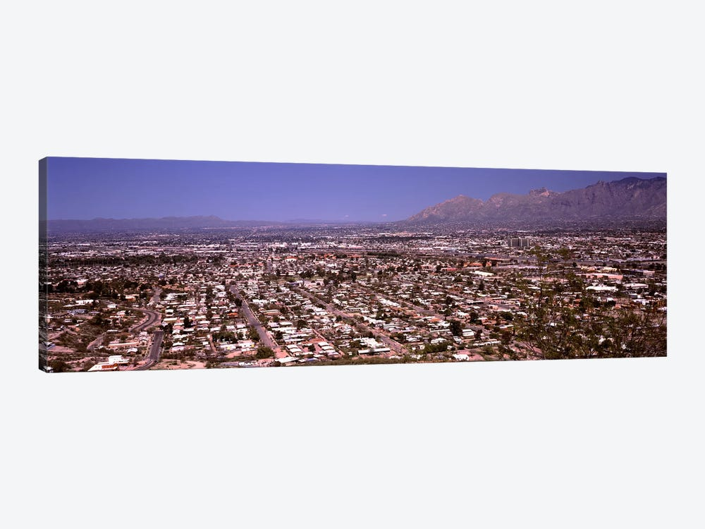 Aerial view of a cityTucson, Pima County, Arizona, USA by Panoramic Images 1-piece Canvas Wall Art