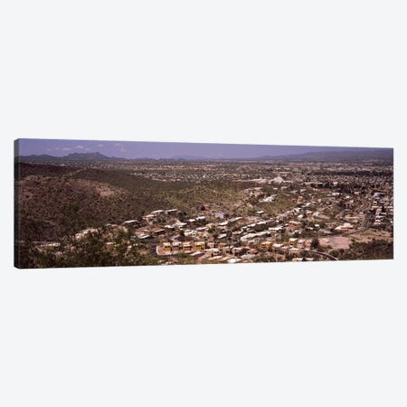 Aerial view of a city, Tucson, Pima County, Arizona, USA #2 Canvas Print #PIM8646} by Panoramic Images Canvas Art