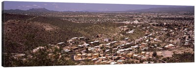 Aerial view of a city, Tucson, Pima County, Arizona, USA #2 Canvas Art Print