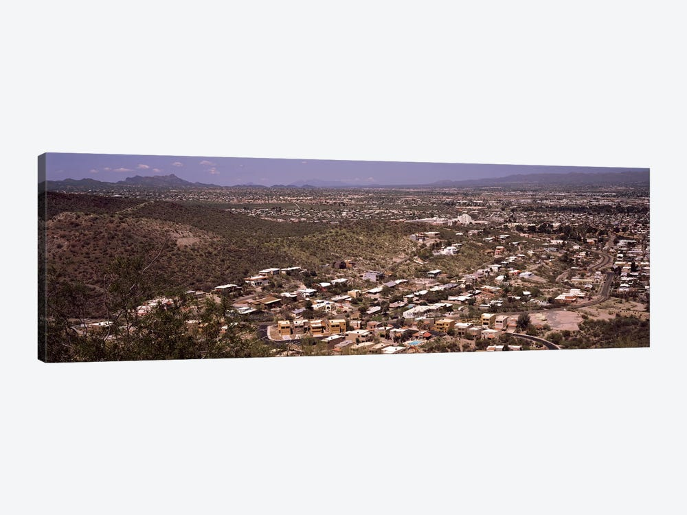 Aerial view of a city, Tucson, Pima County, Arizona, USA #2 by Panoramic Images 1-piece Canvas Print