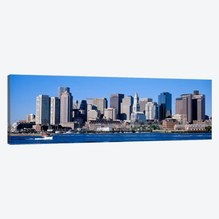 Skyline, Cityscape, Boston, Massachusetts, USA,  Canvas Print #PIM865} by Panoramic Images Canvas Print
