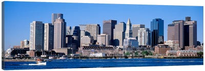Skyline, Cityscape, Boston, Massachusetts, USA,  Canvas Art Print