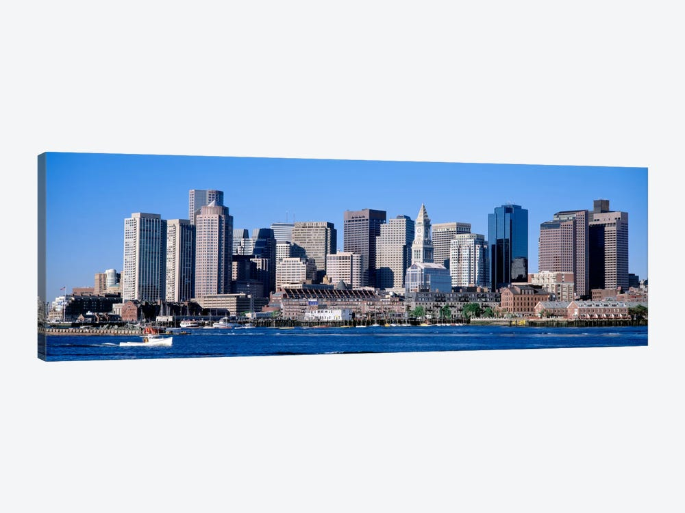 Skyline, Cityscape, Boston, Massachusetts, USA,  by Panoramic Images 1-piece Canvas Wall Art