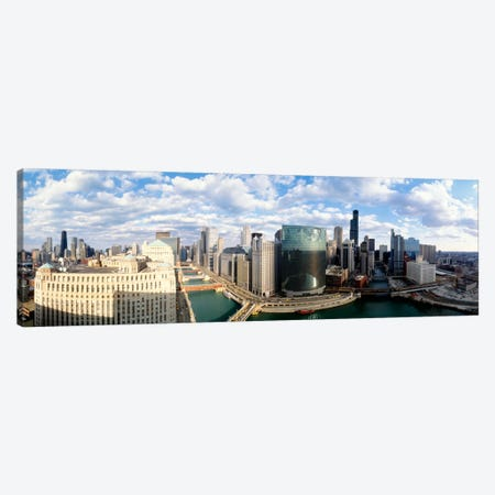 Cityscape Chicago IL USA #2 Canvas Print #PIM867} by Panoramic Images Canvas Print