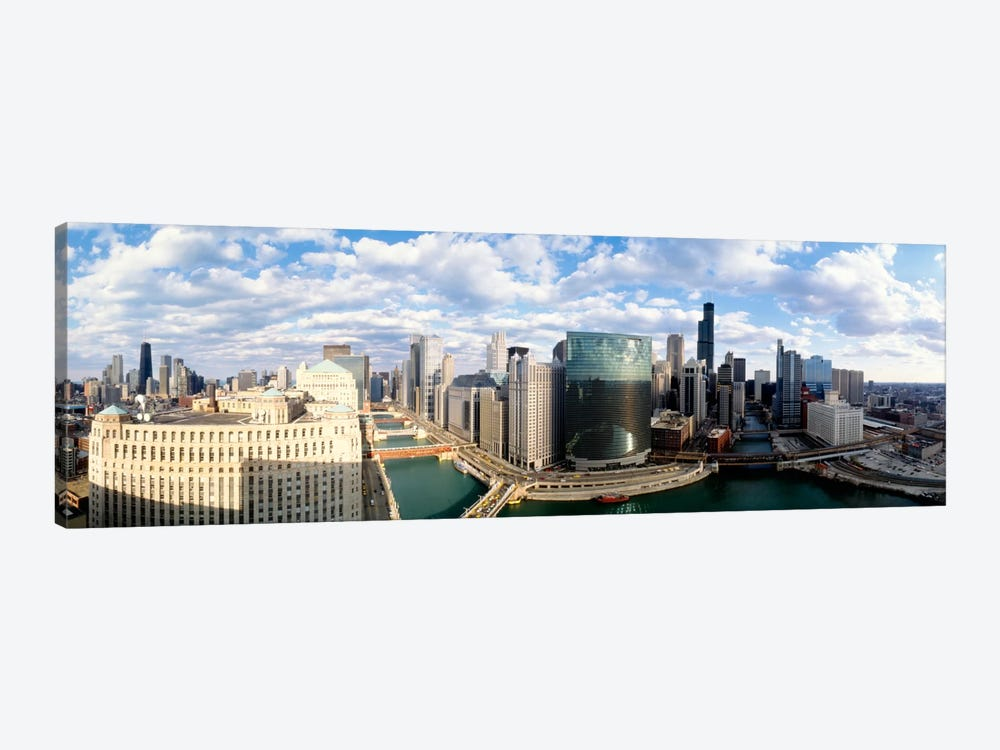 Cityscape Chicago IL USA #2 by Panoramic Images 1-piece Canvas Art